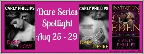 Dare series spotlight banner