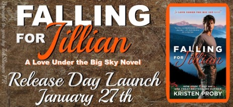 Falling for Jillian release banner