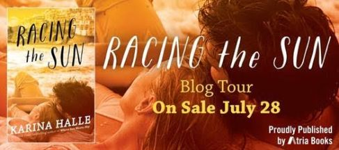 Racing the sun blog tour