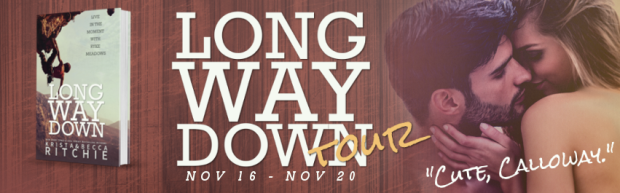 Long way down banner