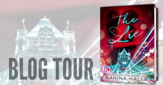 The Lie blog tour banner