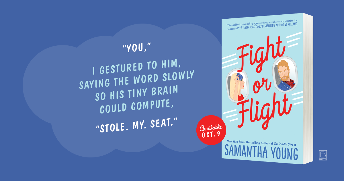 NEW RELEASE AND REVIEW – Fight or Flight by Samantha Young